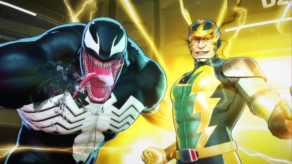 marvel ultimate alliance 3, venom, electro, boss battle