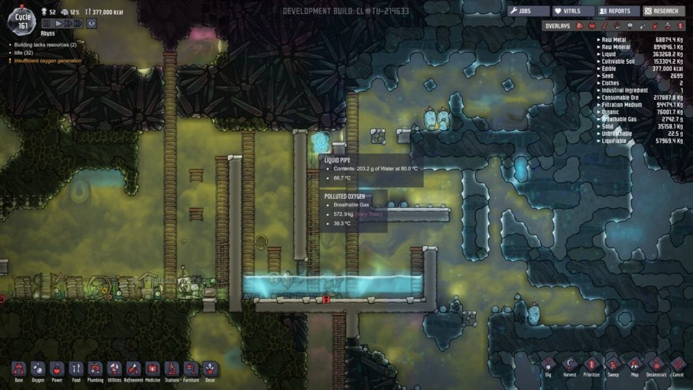 Oxygen Not Included How To Get Rid Of Polluted Oxygen