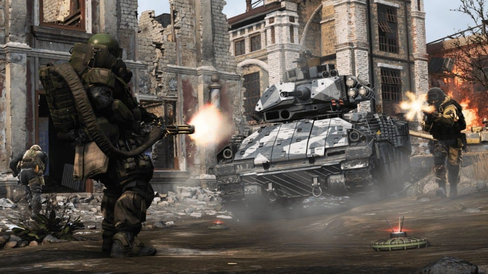 Call of Duty: Modern Warfare Multiplayer Reveal Trailer Shows Juggernaut, Tanks, ATVs and More