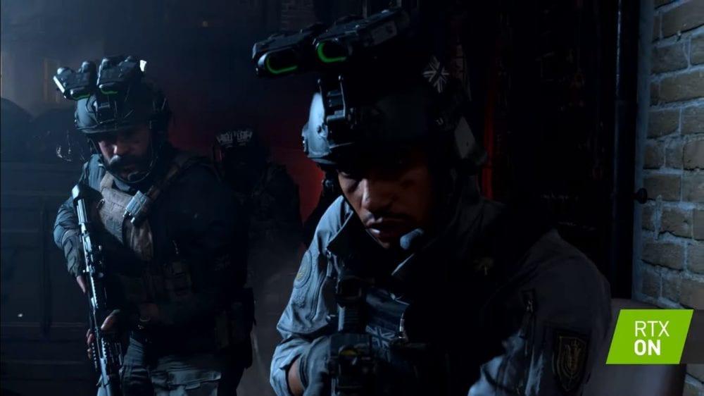 Call of Duy Modern Warfare RTX