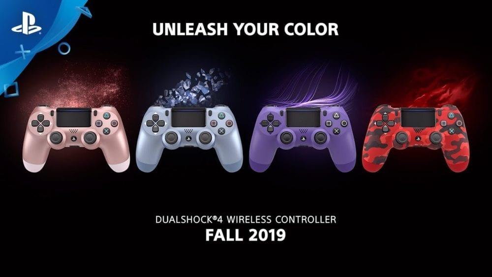 Dualshock 4 PS4 Colors