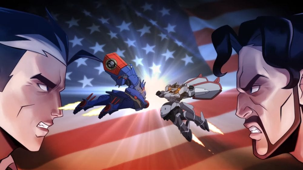 metal wolf chaos xd, trailer