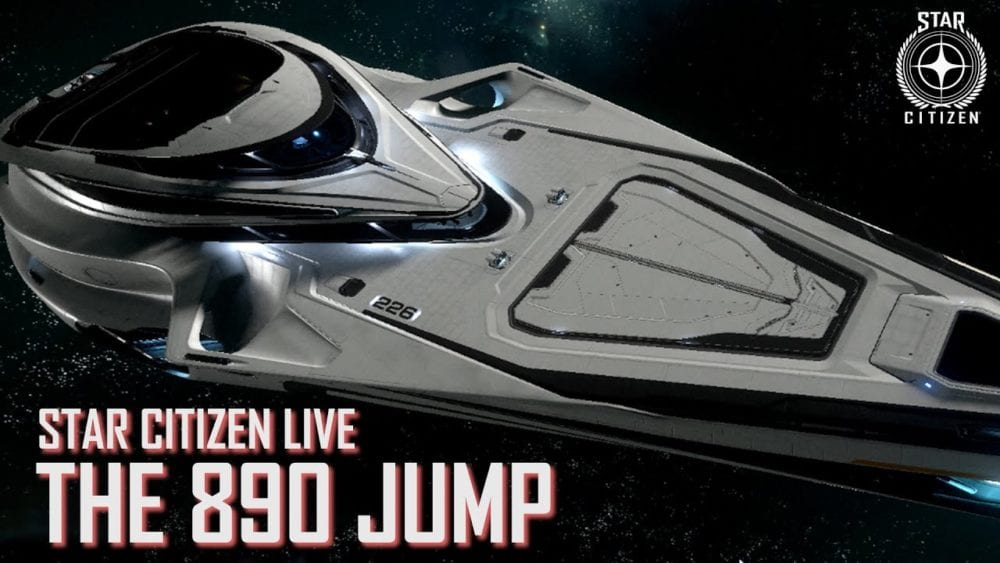 Star Citizen 890 Jump