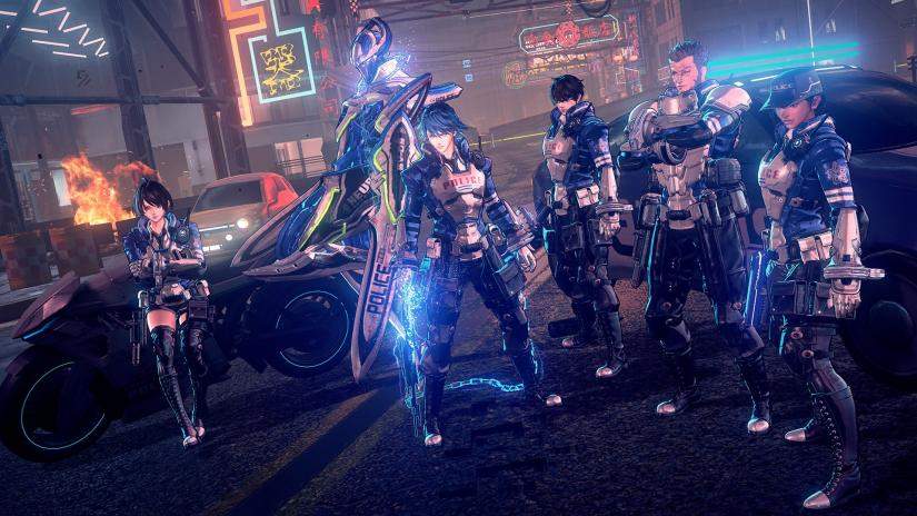 astral chain, how many, chapters