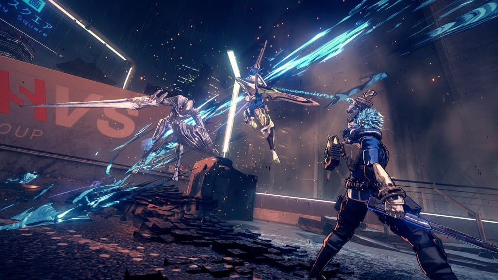 astral chain, enemy barriers