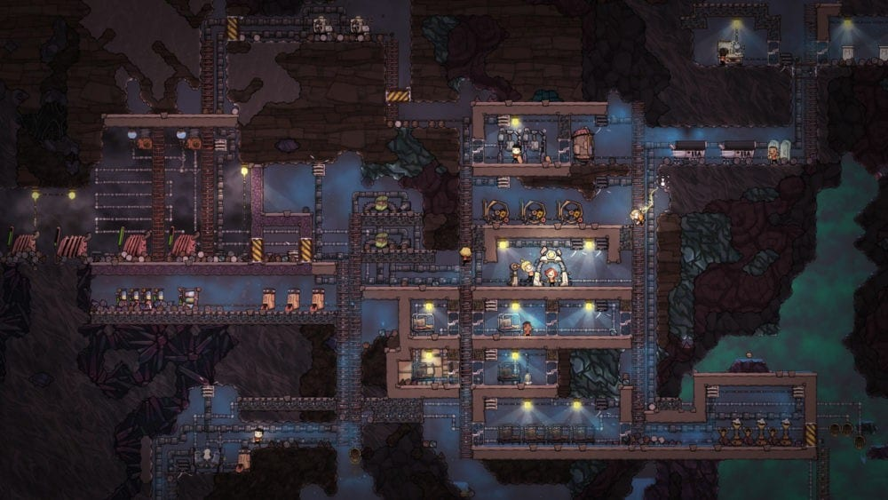 Oxygen Not Included, sandbox