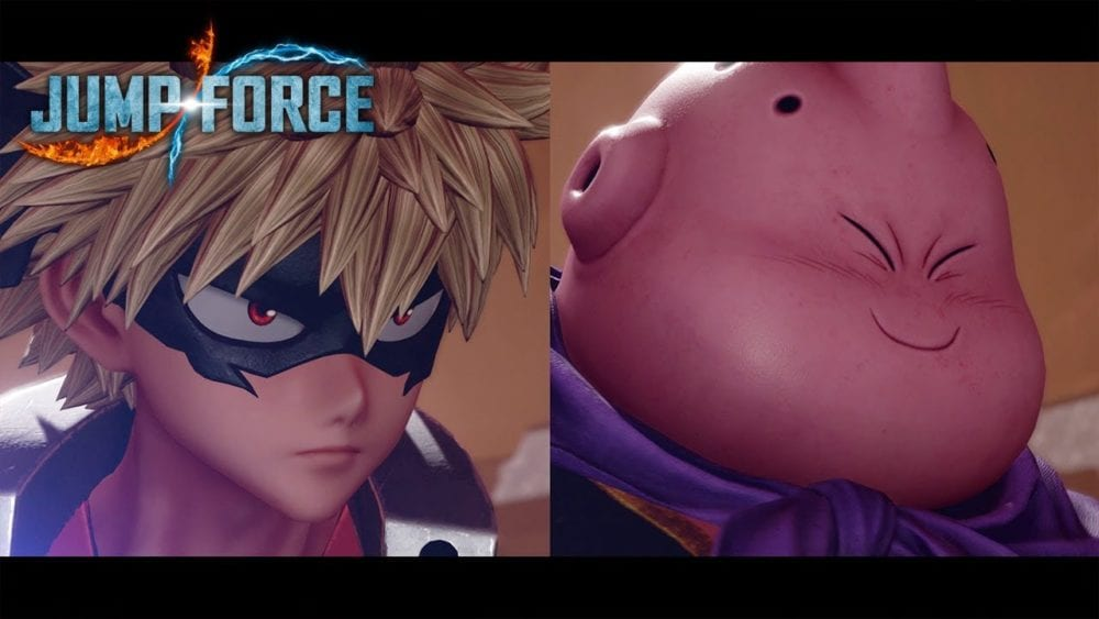 New Jump Force Trailer Reveals Release Date For Bakugo and Majin Buu