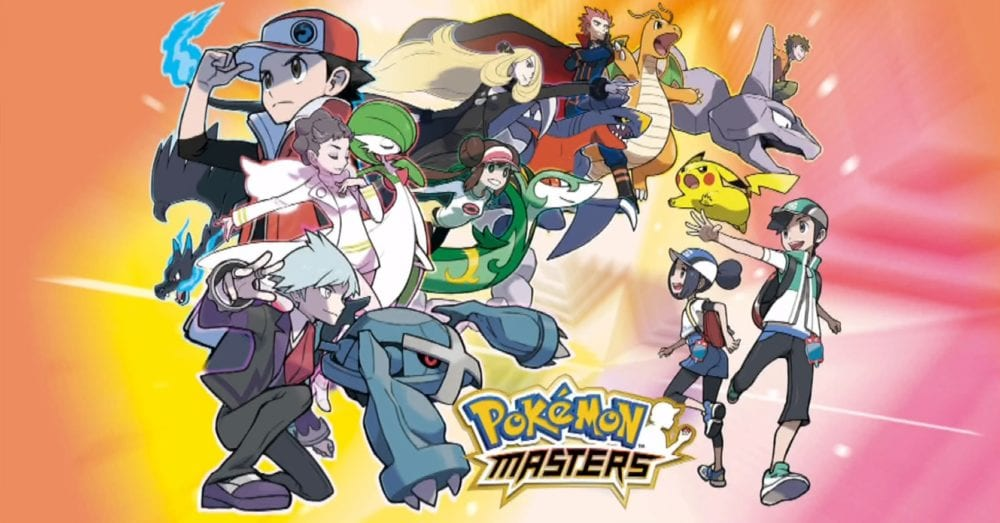 pokemon masters, change Pokemon