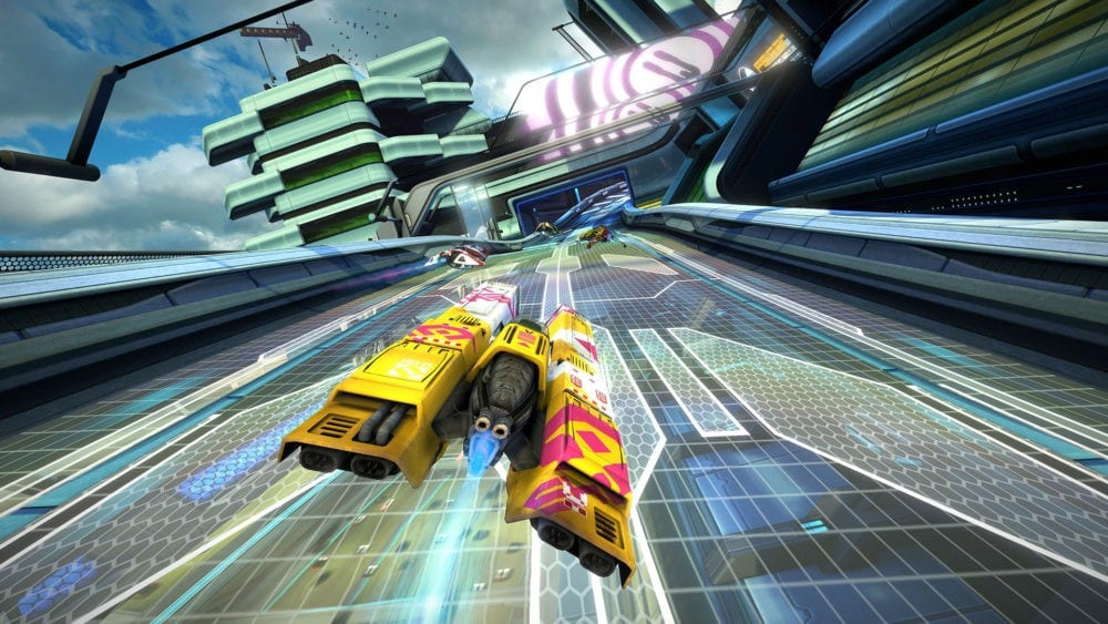 wipeout omega collection, barrel roll