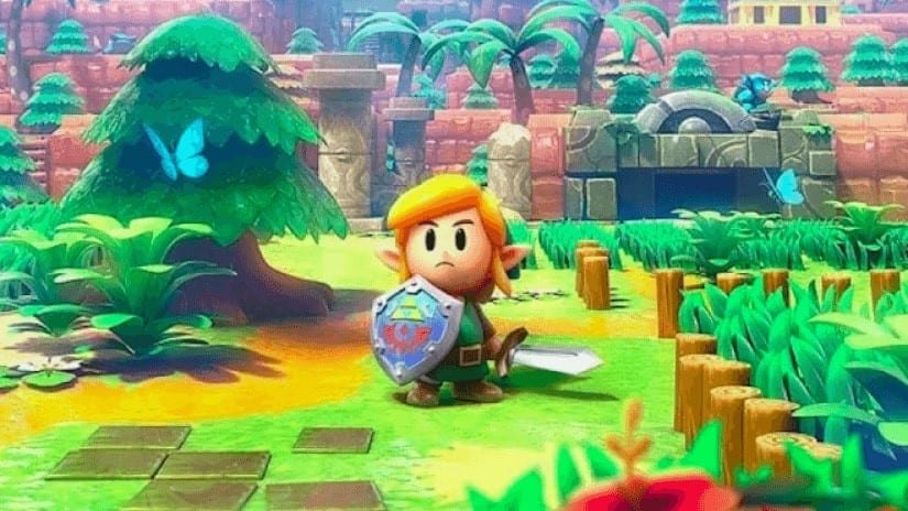 LoZ Link's Awakening download and install size