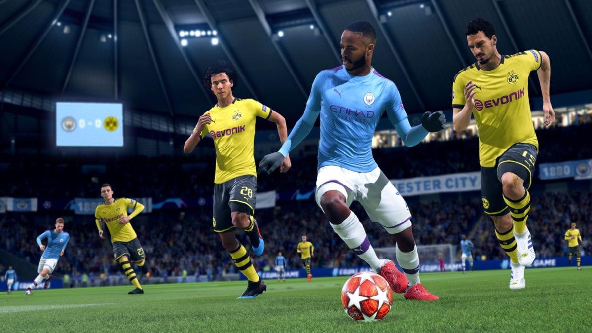 FIFA 20 heel to heel flick