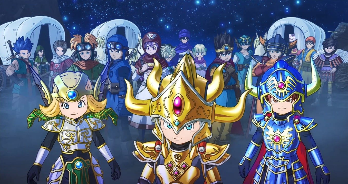 dragon quest, dragon quest of the stars