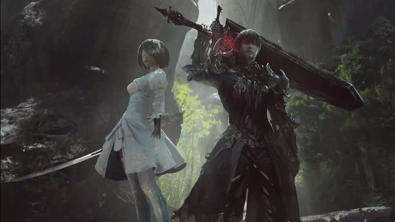Final Fantasy Xiv Nier Automata Crossover Raid Gets First Images