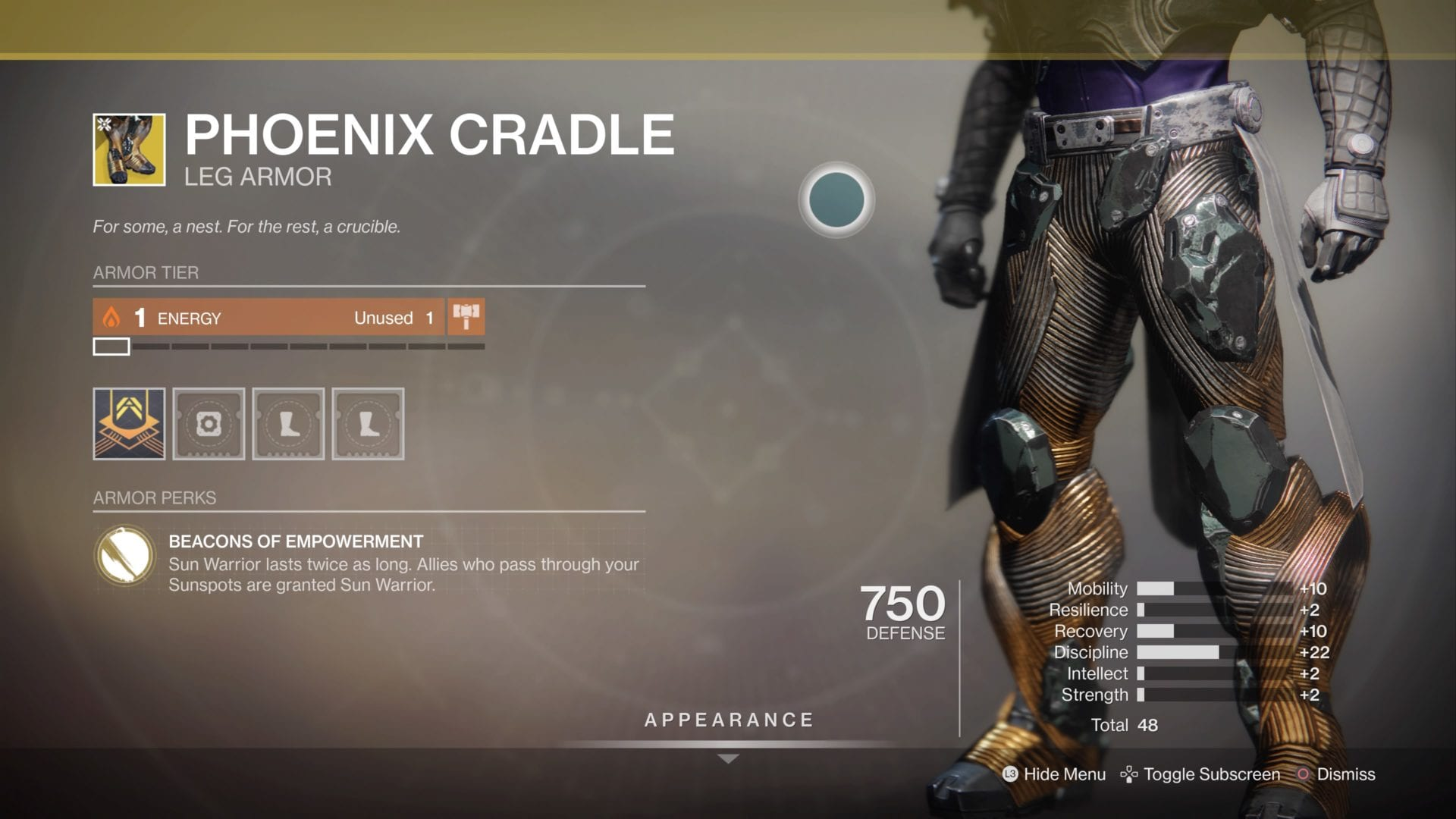 how to get, phoenix cradle, exotic, destiny 2
