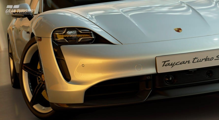 GT Sport aggiornamento ottobre porsche taycan