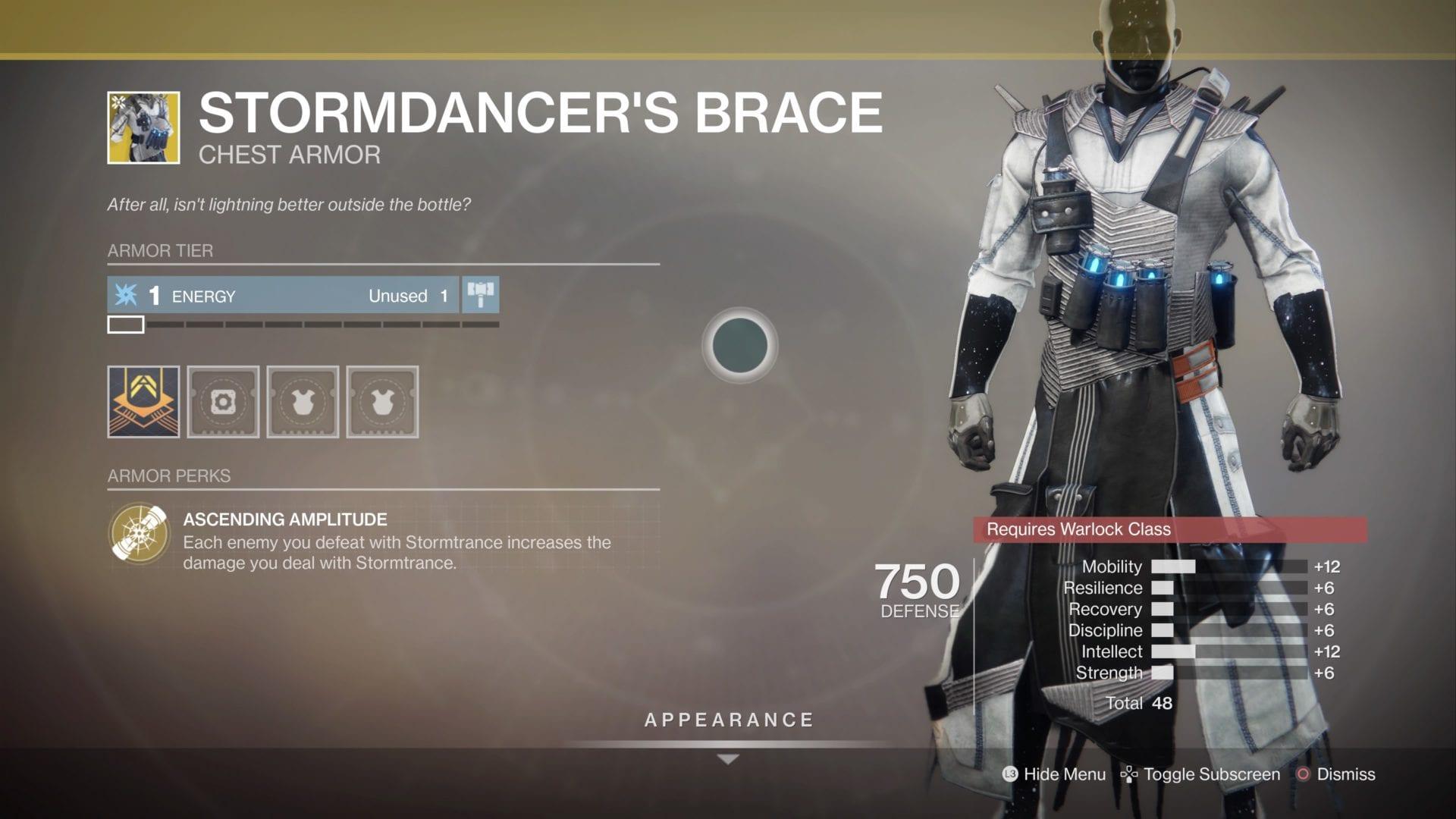 how to get, stormdancer's brace, destiny 2