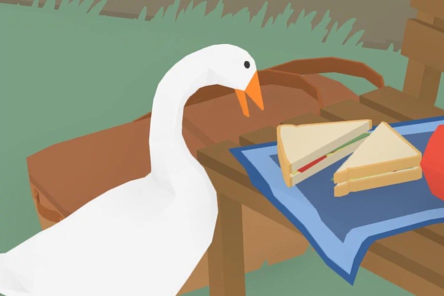 untitled goose game, guide, how to break the broom