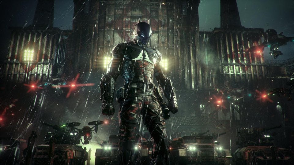 arkham knight 2 player