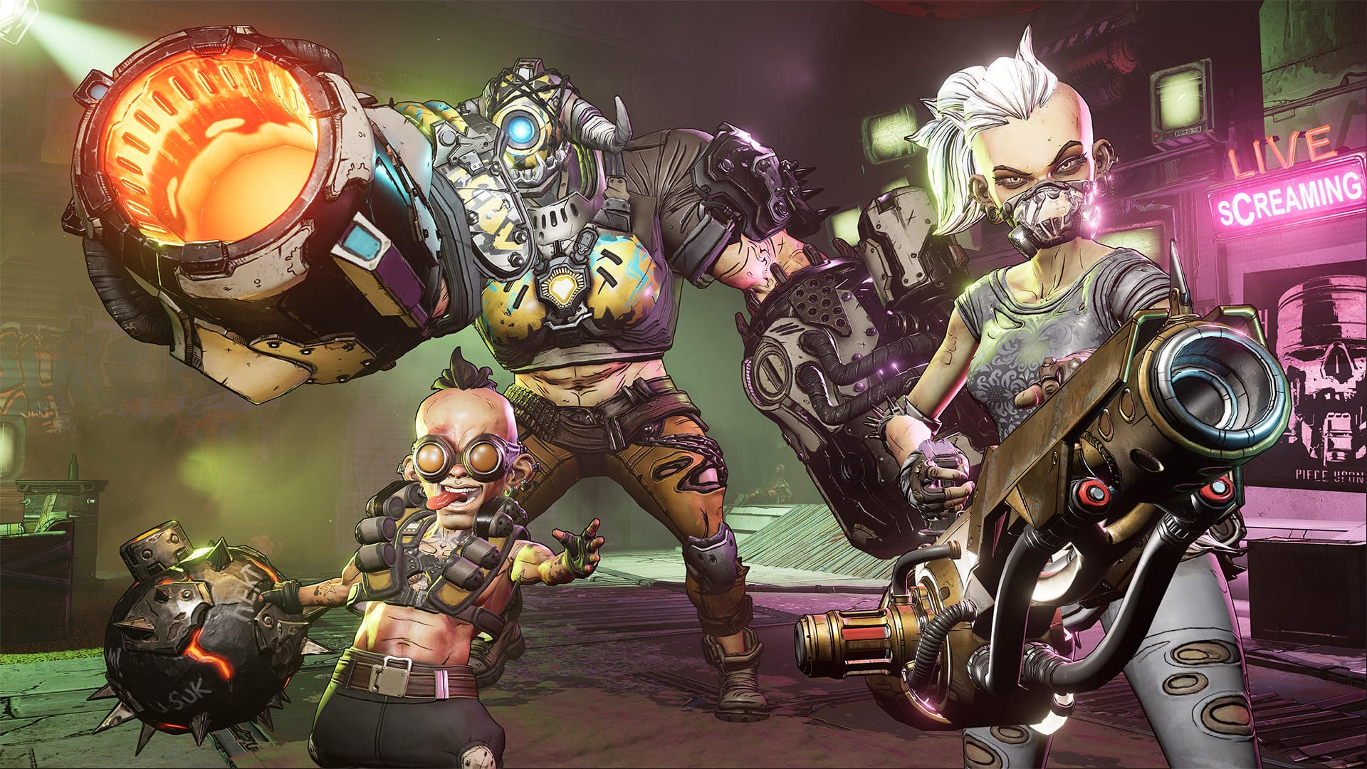 borderlands 3, throw grenades
