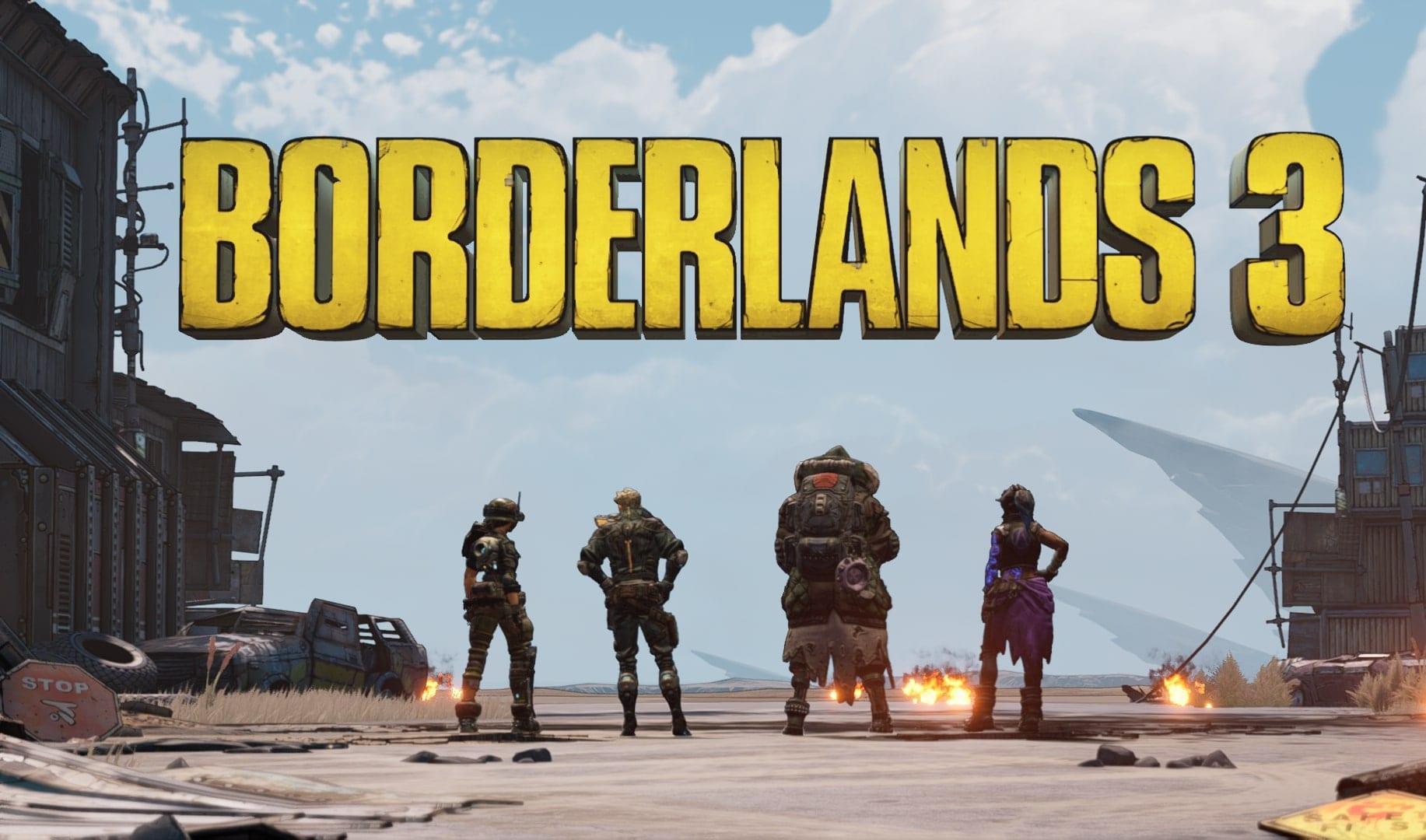 borderlands 3 level up fast