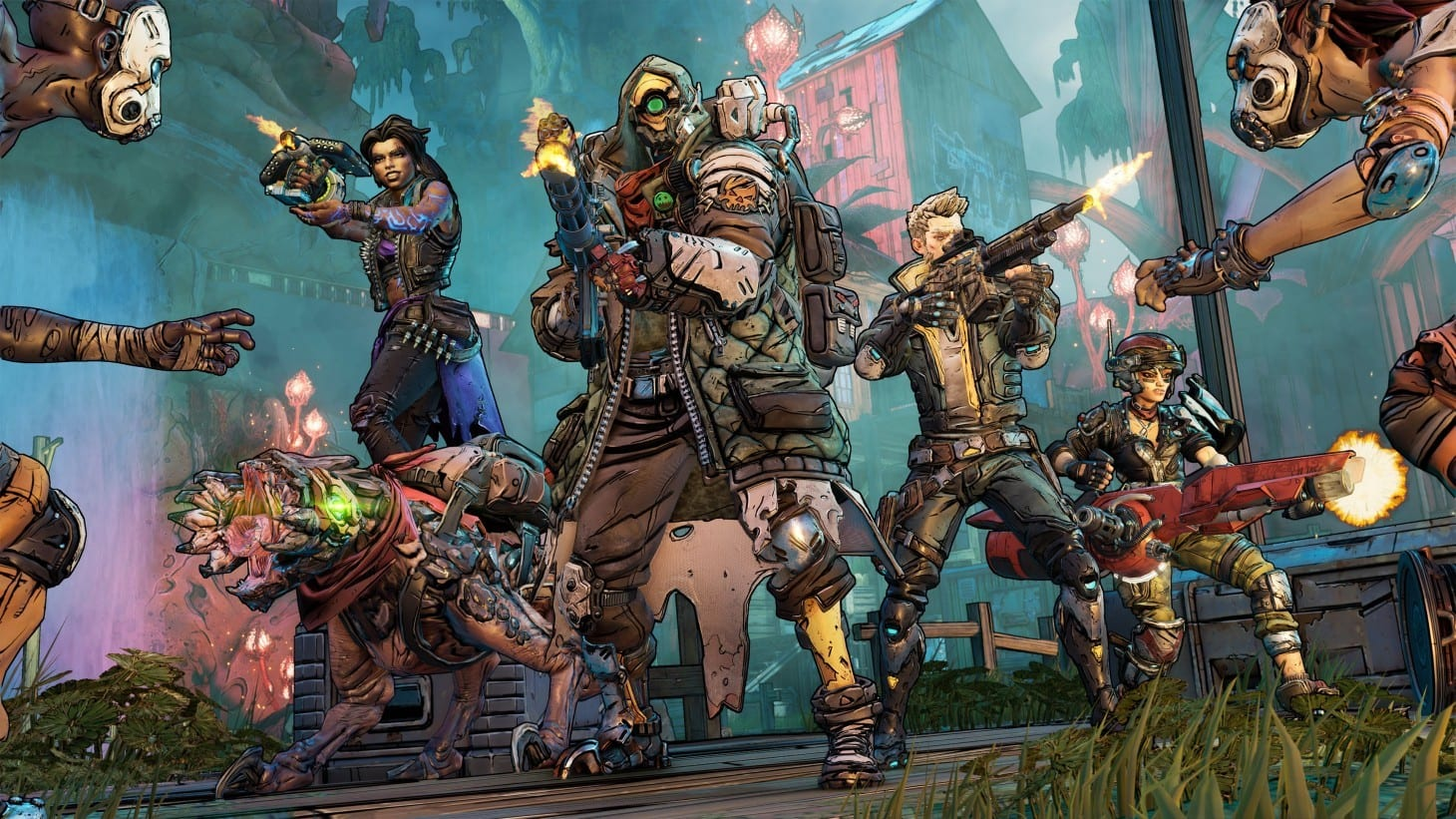 Borderlands 3, Ambermire Crew Challenge Locations