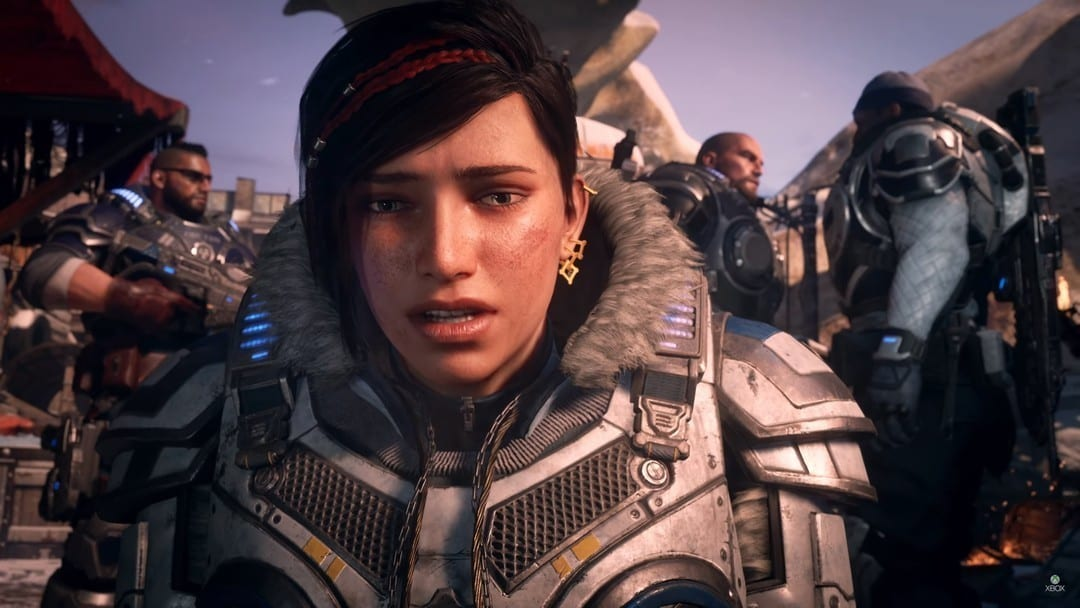 customize characters in Gears 5