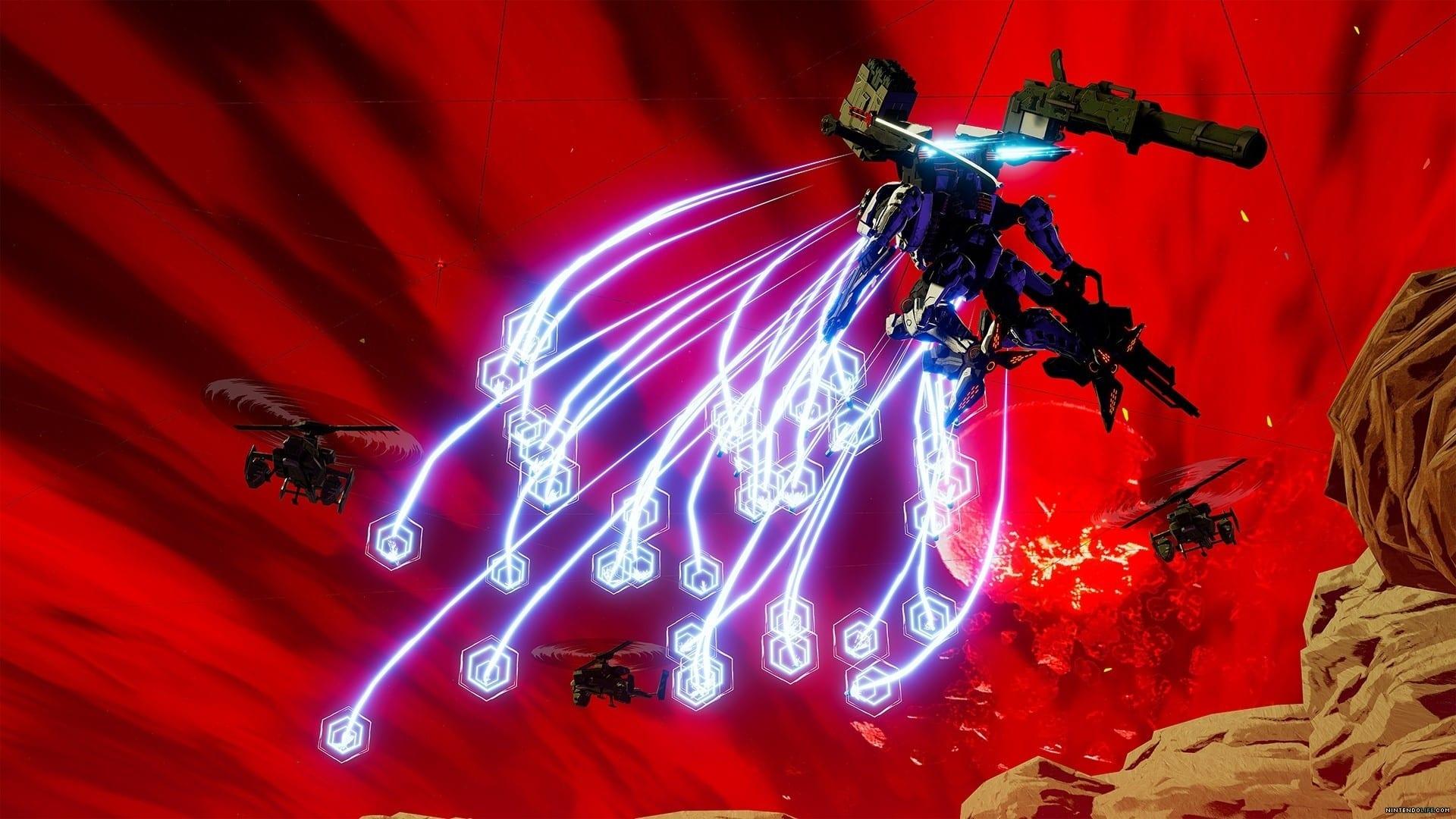 daemon x machina, new weapons