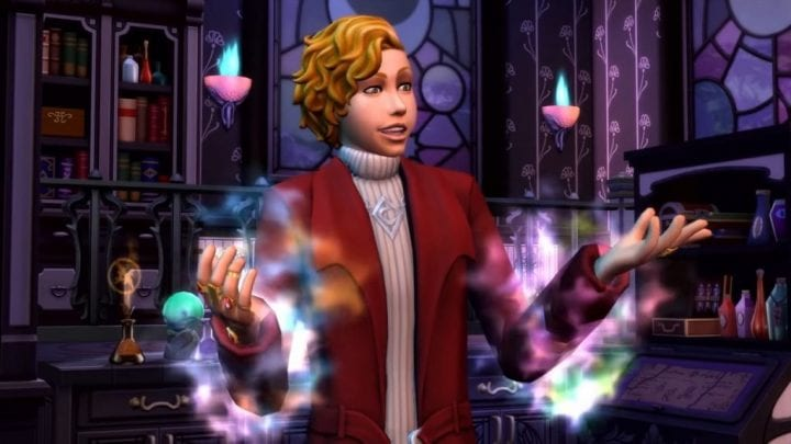 how to get familiars in sims 4 realm of magic
