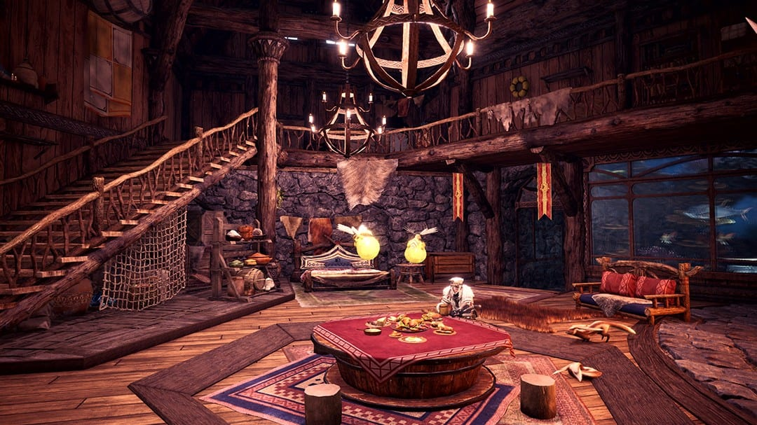 Monster Hunter World: Iceborne, How to Redecorate Your Room