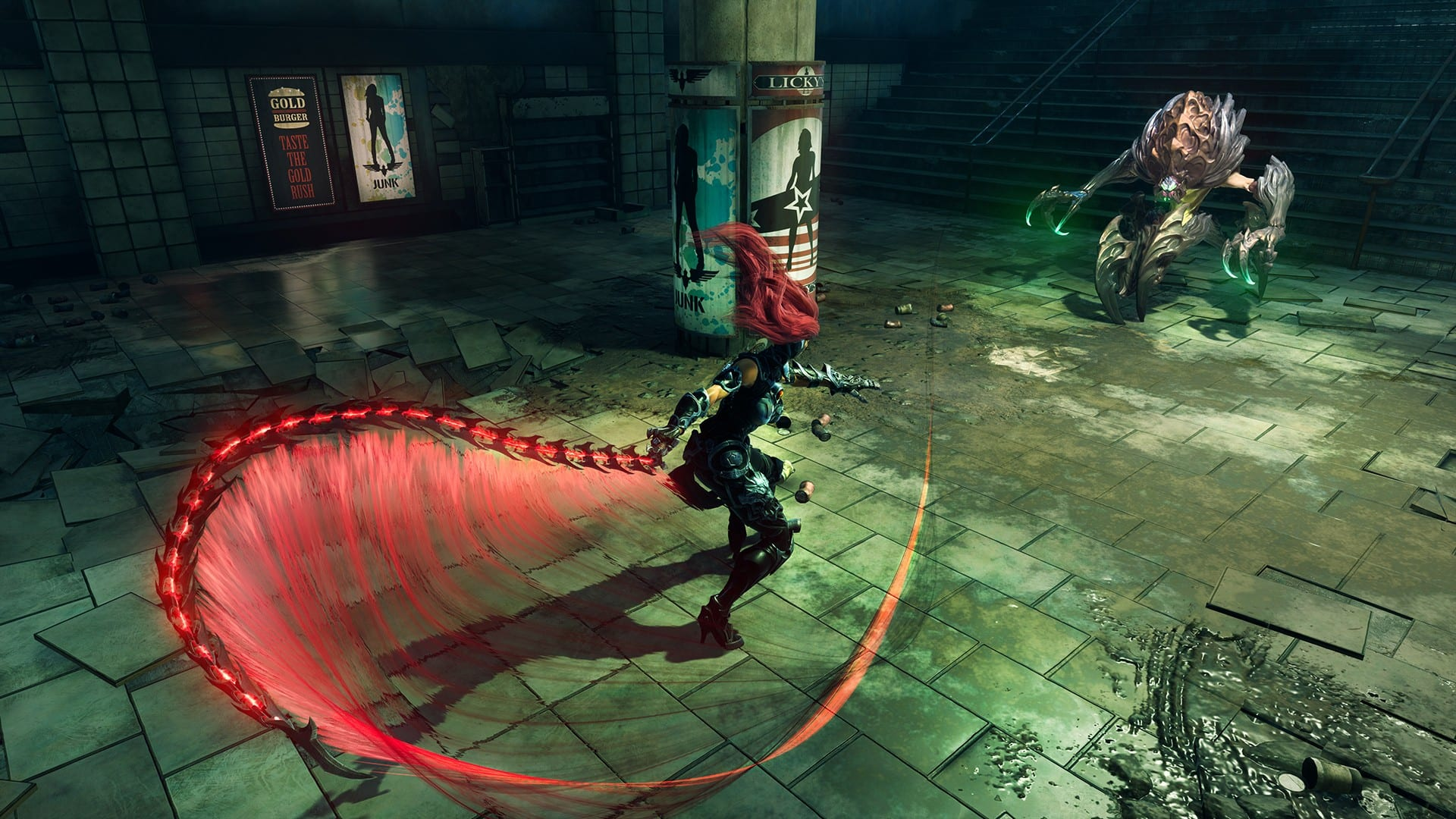 How to use explosive bugs and what they do in Darksiders 3