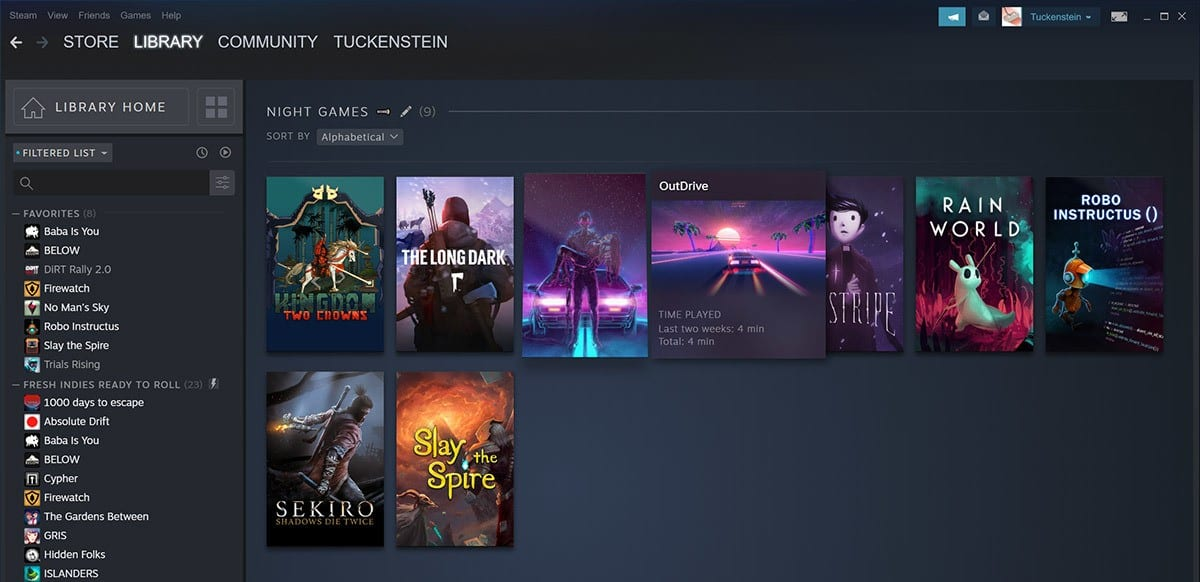 steam library beta