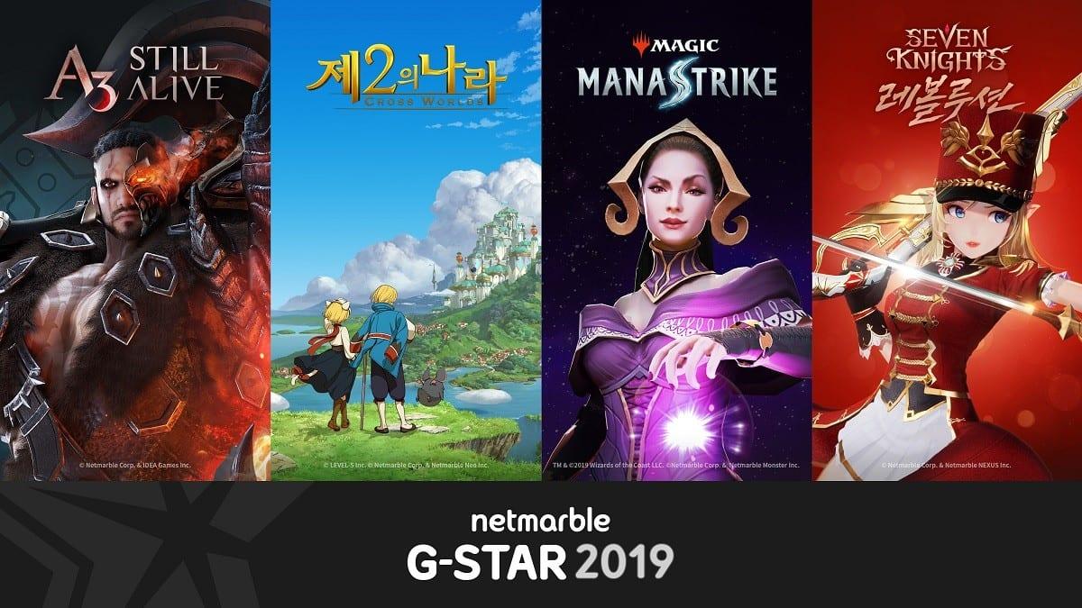 netmarble, ni no kuni, g star 2019
