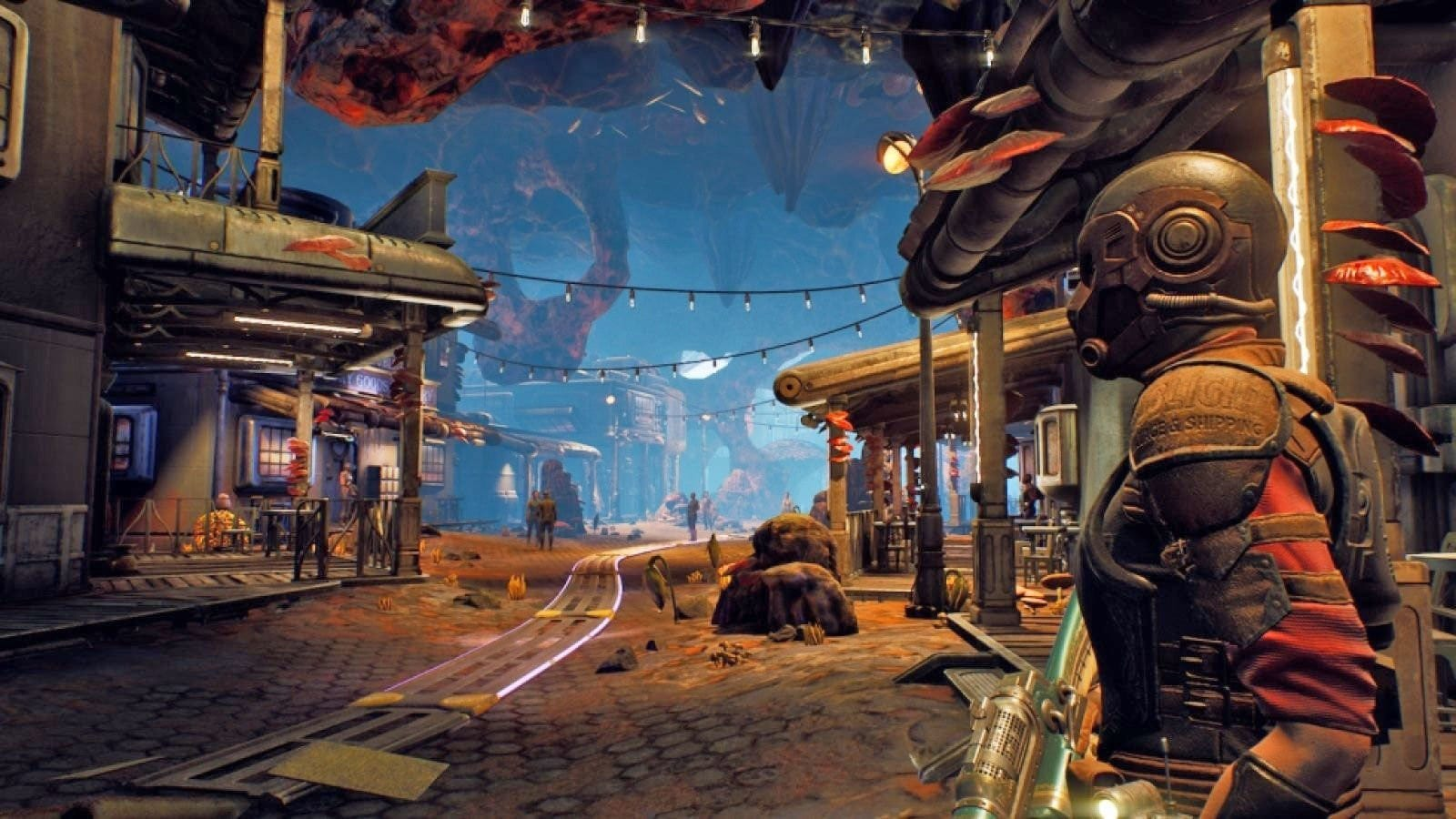 outer worlds, melee