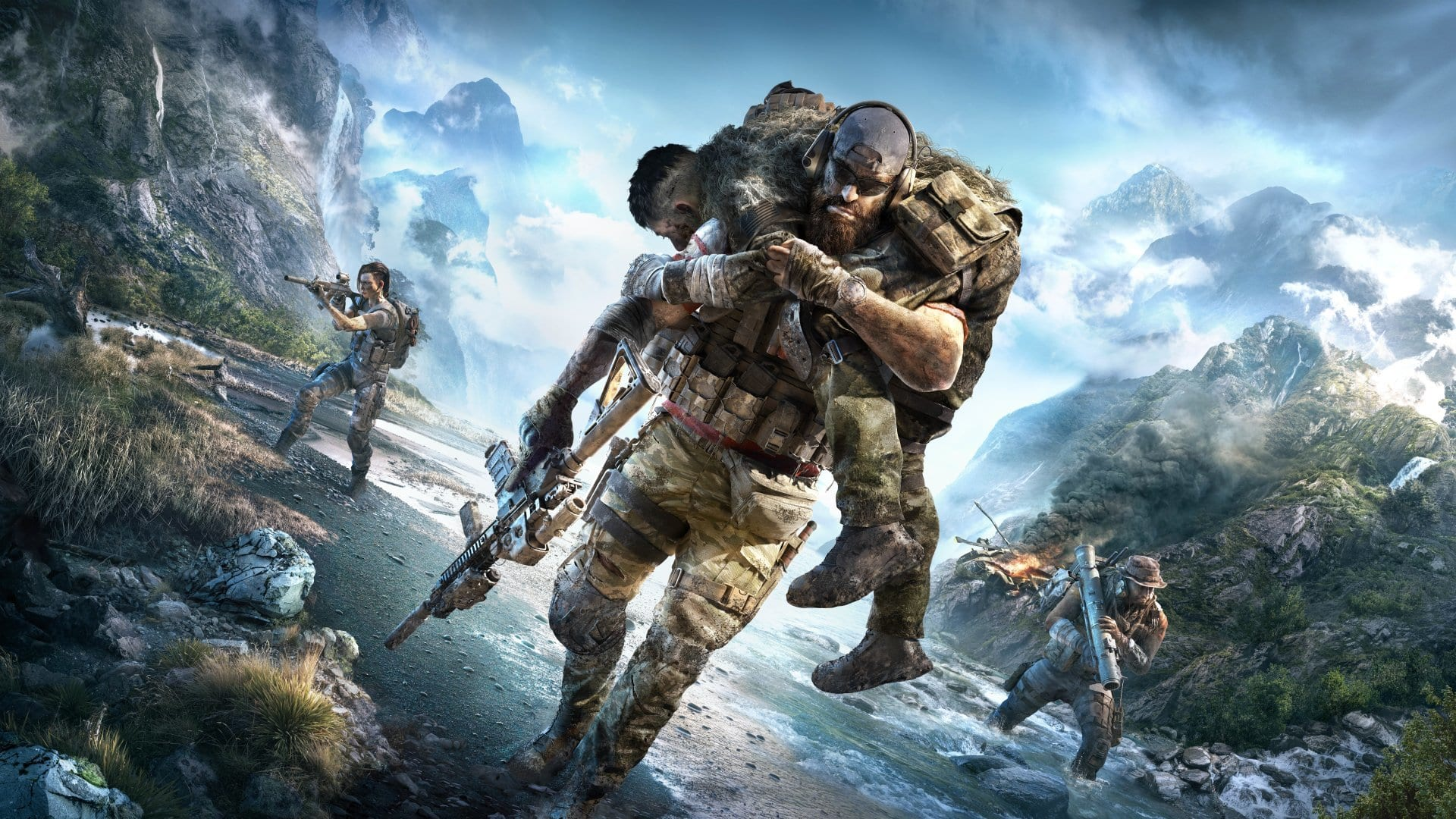 ghost recon, breakpoint, fifa, sales