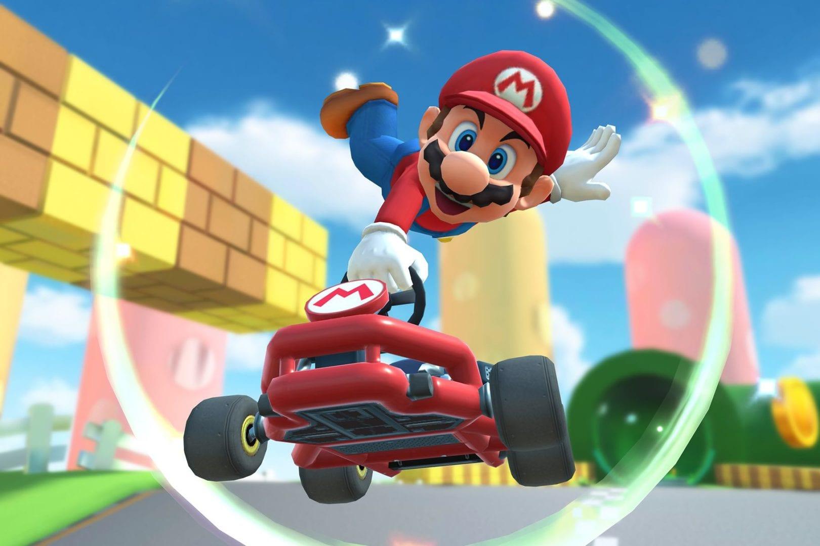 Mario kart tour mega dry bowser
