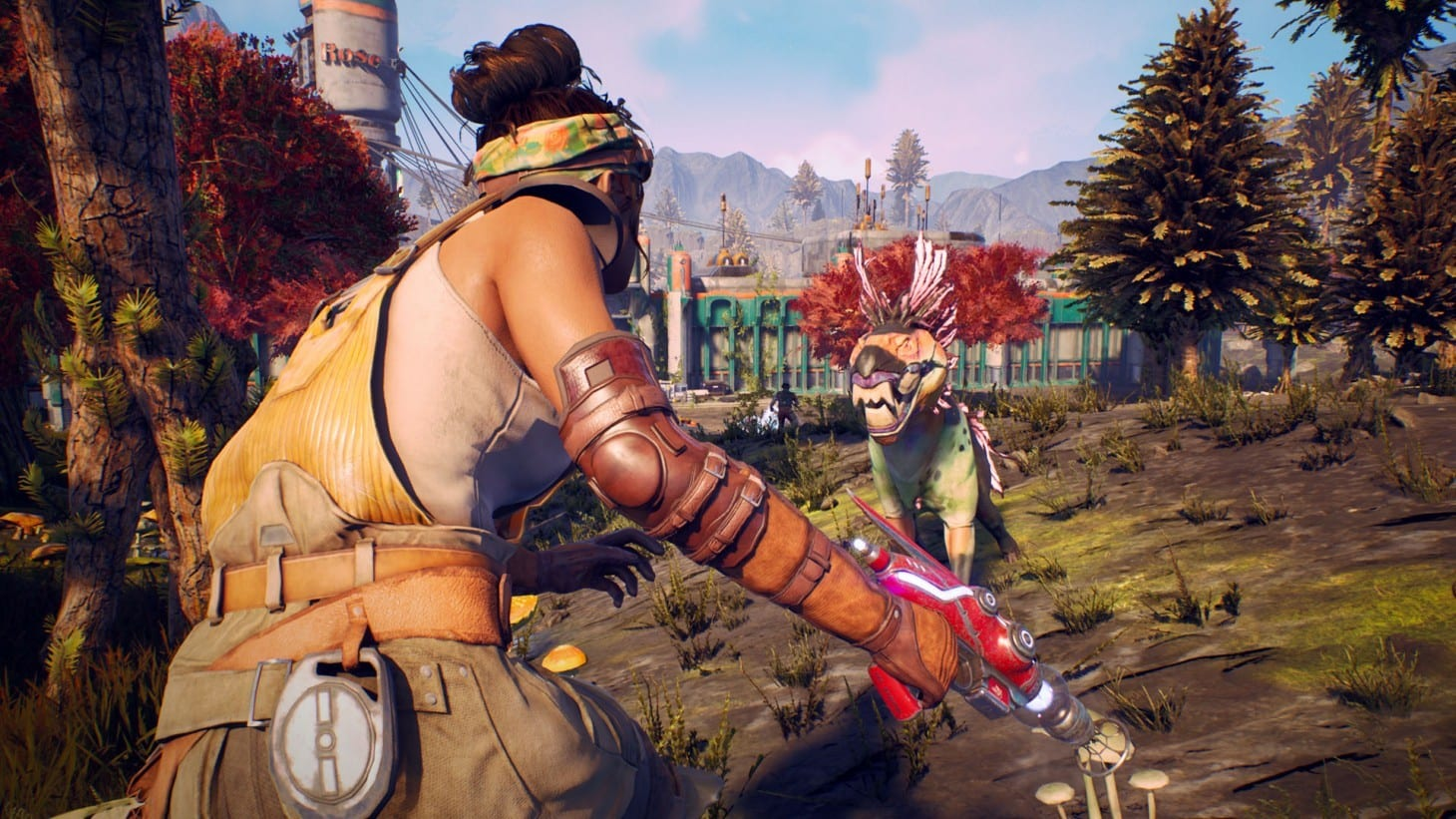 outer worlds, third-person