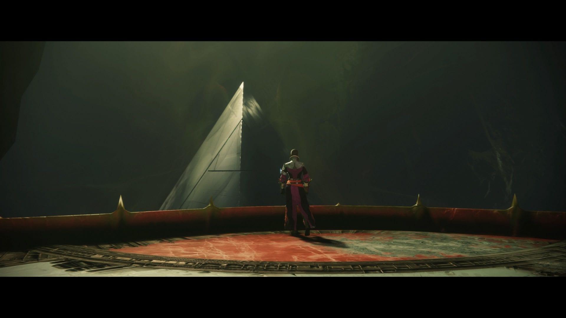destiny 2, black pyramid ship