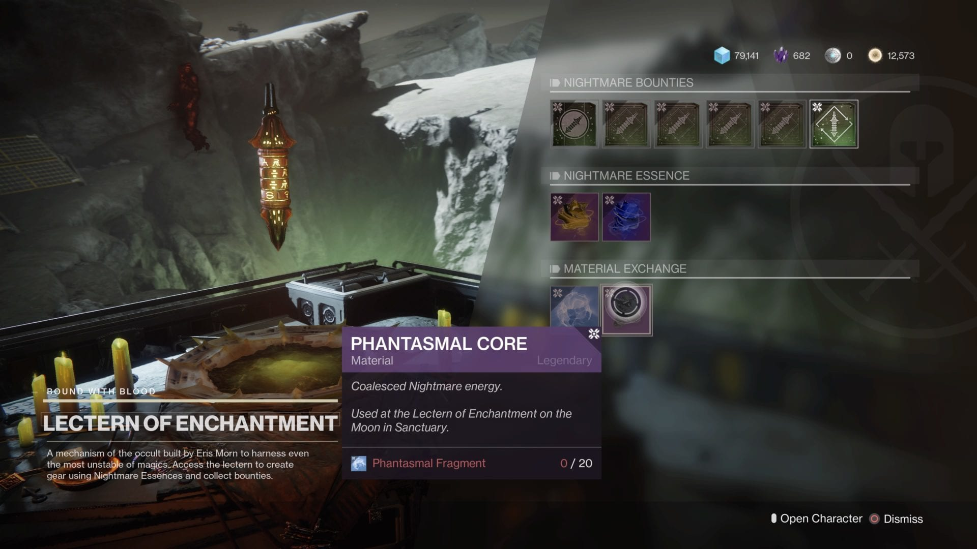 phantasmal cores, destiny 2, how to get, shadowkeep