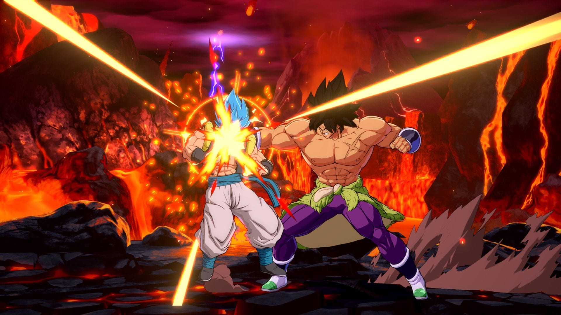 New Dragon Ball Fighterz Screenshots Show Broly While