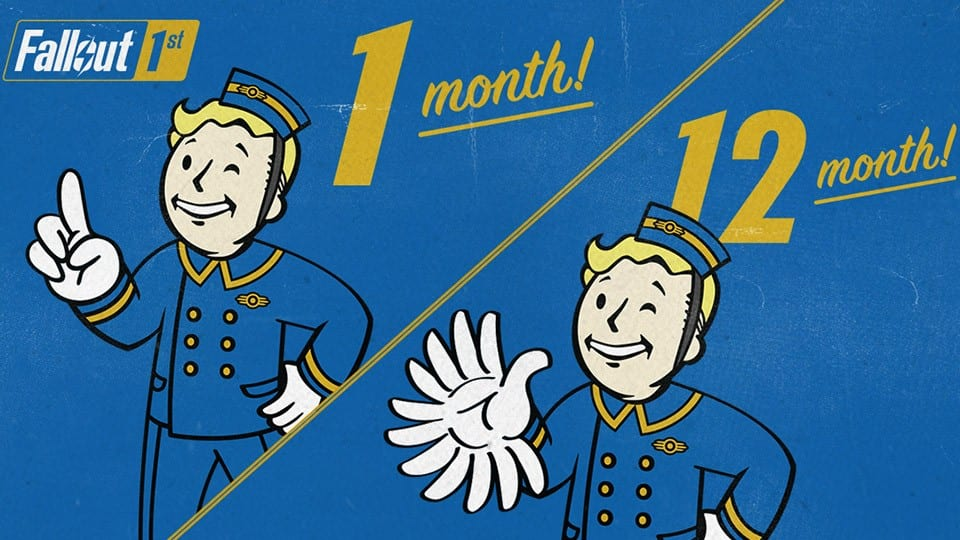 Fallout 76, Fallout 1st