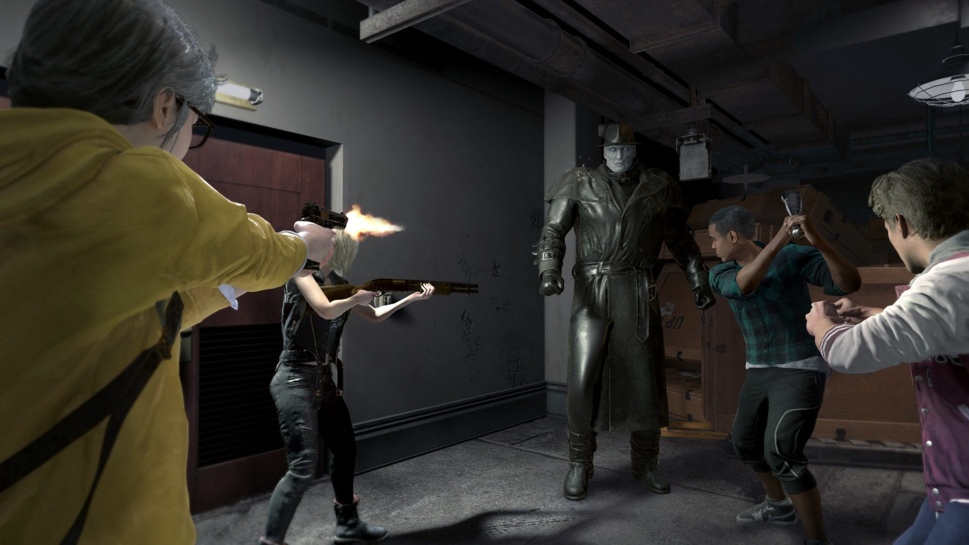 project resistance, resident evil, nycc, hands-on preview, demo