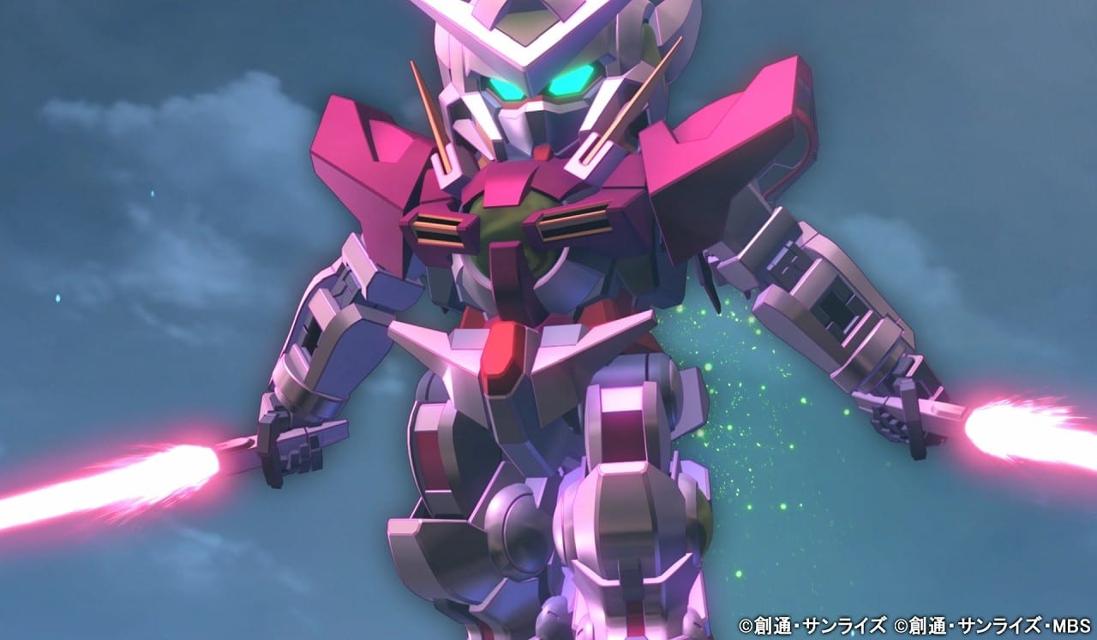 SD Gundam G Generation Cross Rays.