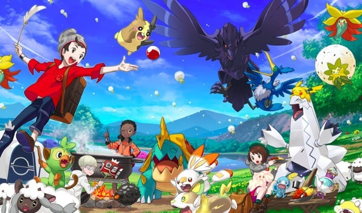 Galarian Ponyta, pokemon sword and shield livestream