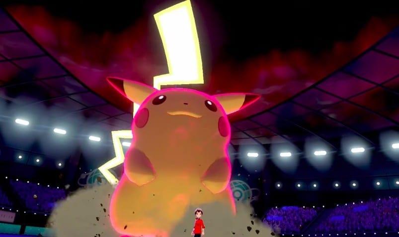 gigantamax form, pokemon sword and shield