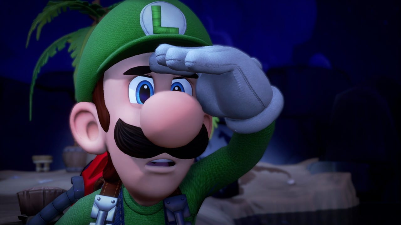 Luigi's Mansion 3, can you pet the dog