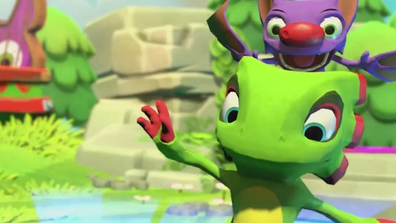 Yooka Laylee Impossible Lair, pipe system