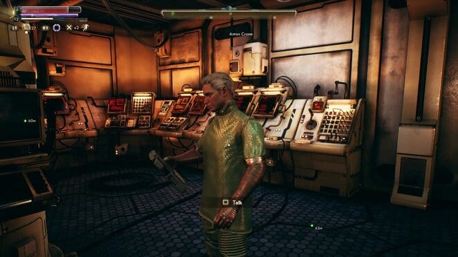 outer worlds, anton, research, the distress signal