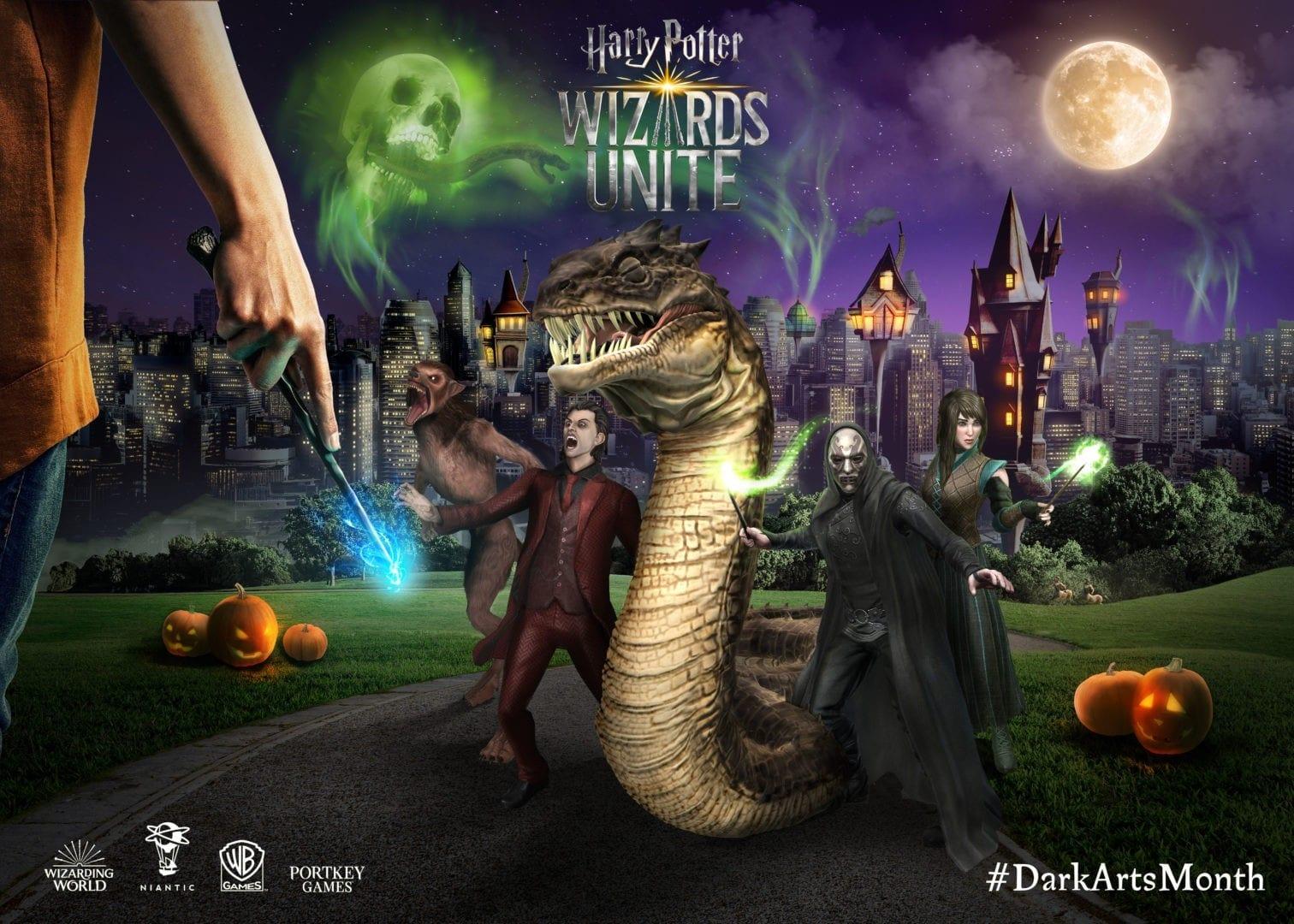 dark arts, harry potter wizards unite, basilisk