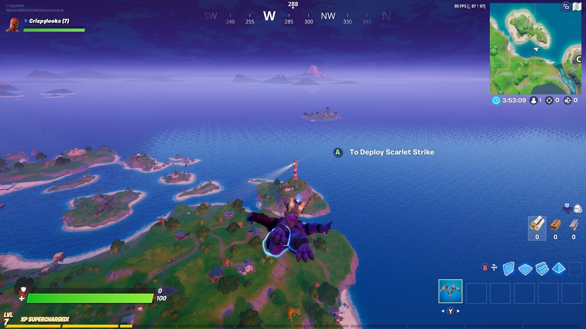 Fortnite: Dance at Compact Cars, Lockie's Lighthouse ...