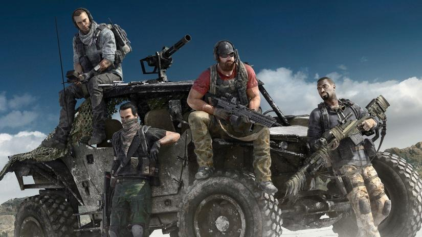 ghost recon, breakpoint, weapons, guns, get more